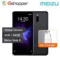 Versión Global Meizu Nota 8 4GB 64GB teléfono móvil Snapdragon 632 Octa Core Note8 Smartphone cuerpo de Metal completo doble cámara trasera