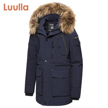 Men 2020 Winter New Casual Faux Fur Collar Long Thick Parkas Jacket Coat Outwear Hooded Pockets Waterproof Jackets Parka - discount item  55% OFF Coats & Jackets