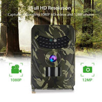 12MP HD 1080P Hunting Trail Camera Video Wildlife Scouting IR Night Vision Camera Outdoor Scouting Infrared IR Night Vision
