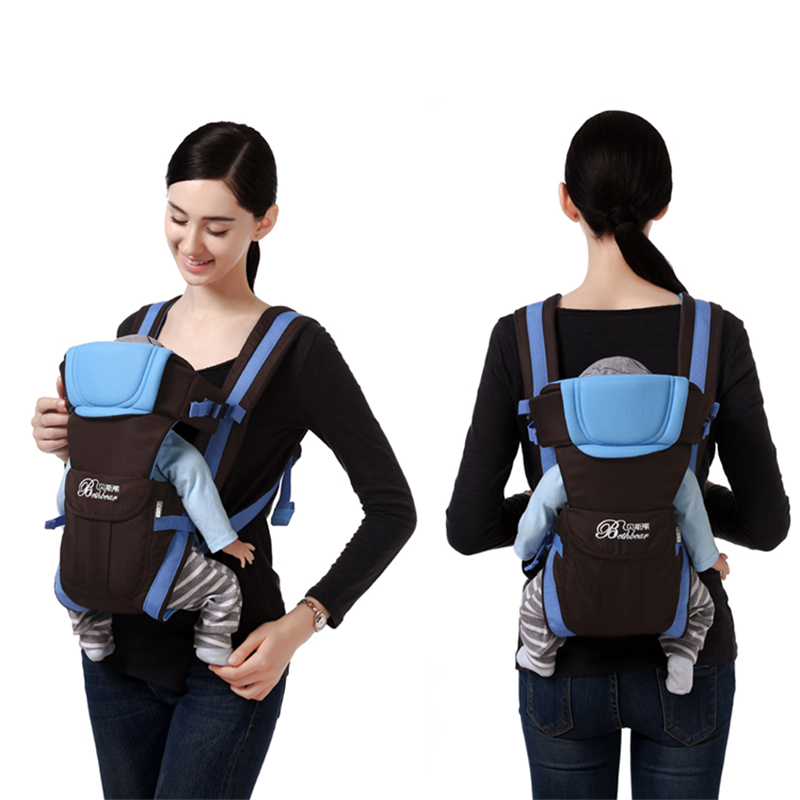 Baby Carrier Sling-Backpack Front-Carry Wrap Infant Breathable 0-24m 4-In-1 Pouch Popular