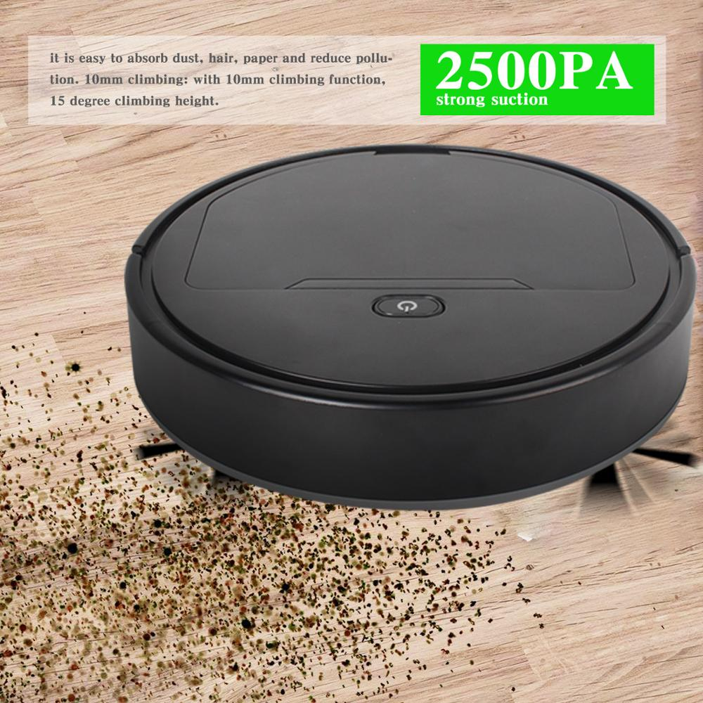 Multifunctional Robot Vacuum Cleaner House Powerful Suction Smarts Cleaner usb Charging Convenient...