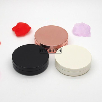 50pcs Empty Powder Case Makeup Blush Box DIY Cosmetic Container with Mirror Travel Size Portable F3842