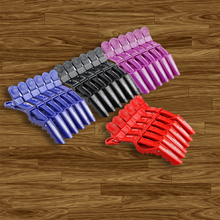6Pcs/Lot Hair Clip Claw Women Girl Hairdressing Salon Clamp Hairpin Bang Grip Accessories Pins 4 Colors Hair Styling Tools Set claw hair clip 6pcs
