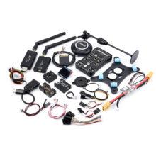 Pixhawk-piloto automático px4 pix 2.4.8 32 bits, controlador de vuelo com interruptor de seguridad, zumbador, tarjeta de 4gb ppm