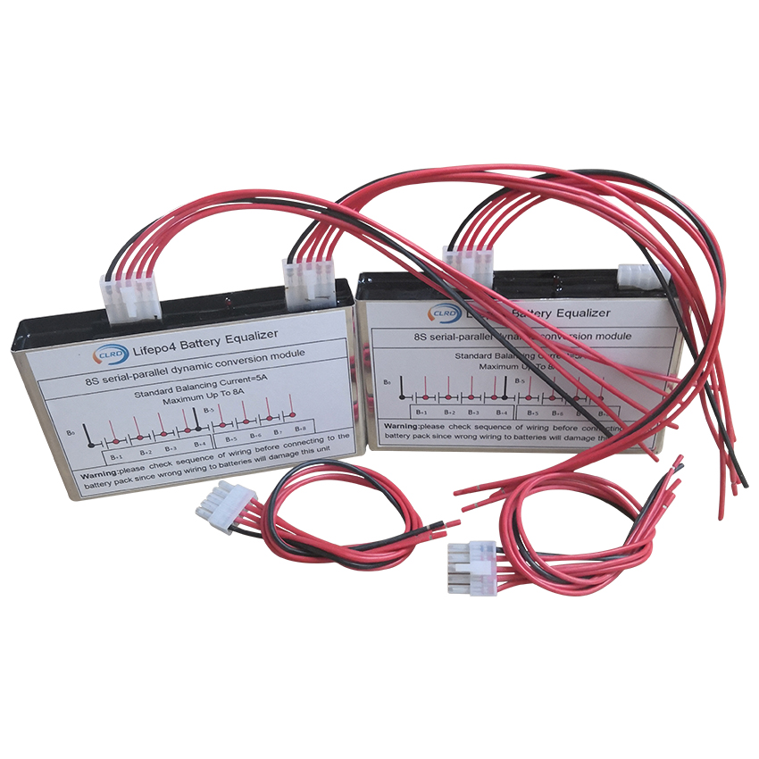 Lithium Ion Lipo Lifepo4 Battery Pack Active Balancer Equalizer With 5A-8A Balance Current