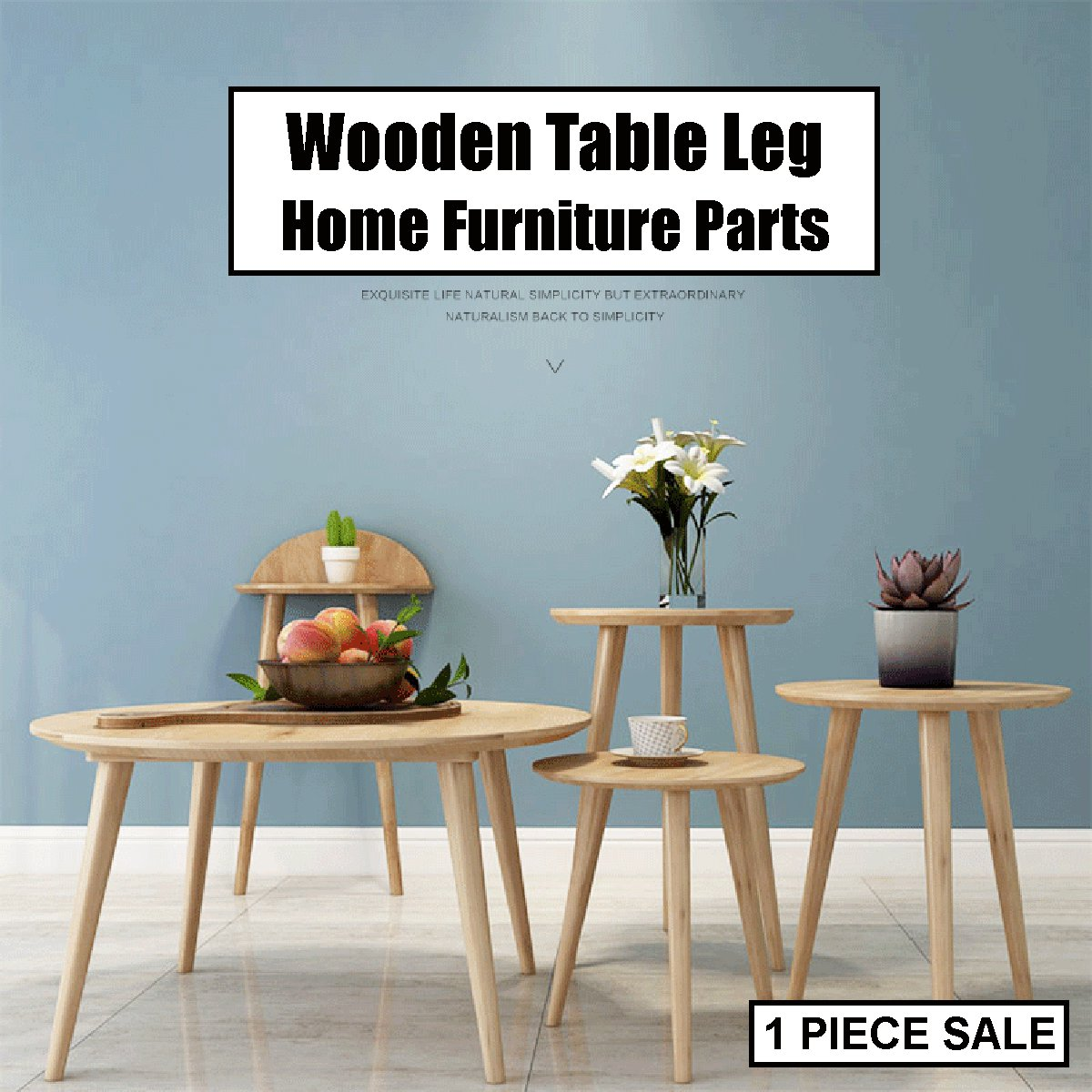 Wooden Table Leg 25/40/60cm Tapered Chair Stool Sofa Cabinet Furniture Hardware Screw Mounting Kits Set Home Furniture Parts