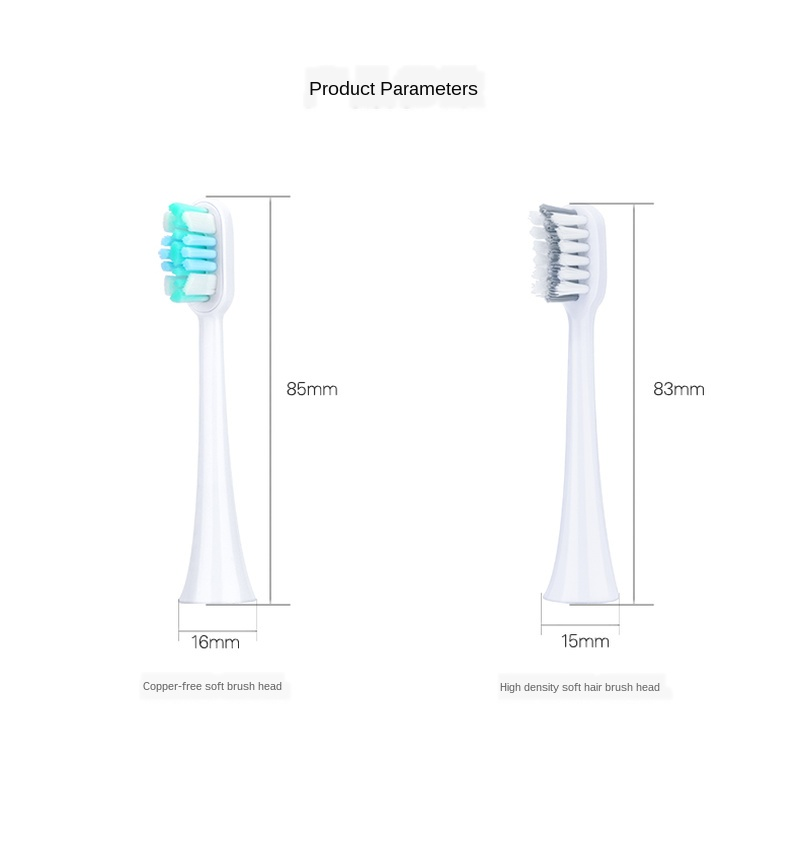 Sarmocare Toothbrushes Head for  S100 and S200 S600 S900 Ultrasonic Sonic Electric Toothbrush Fit Electric Toothbrushes Head 4