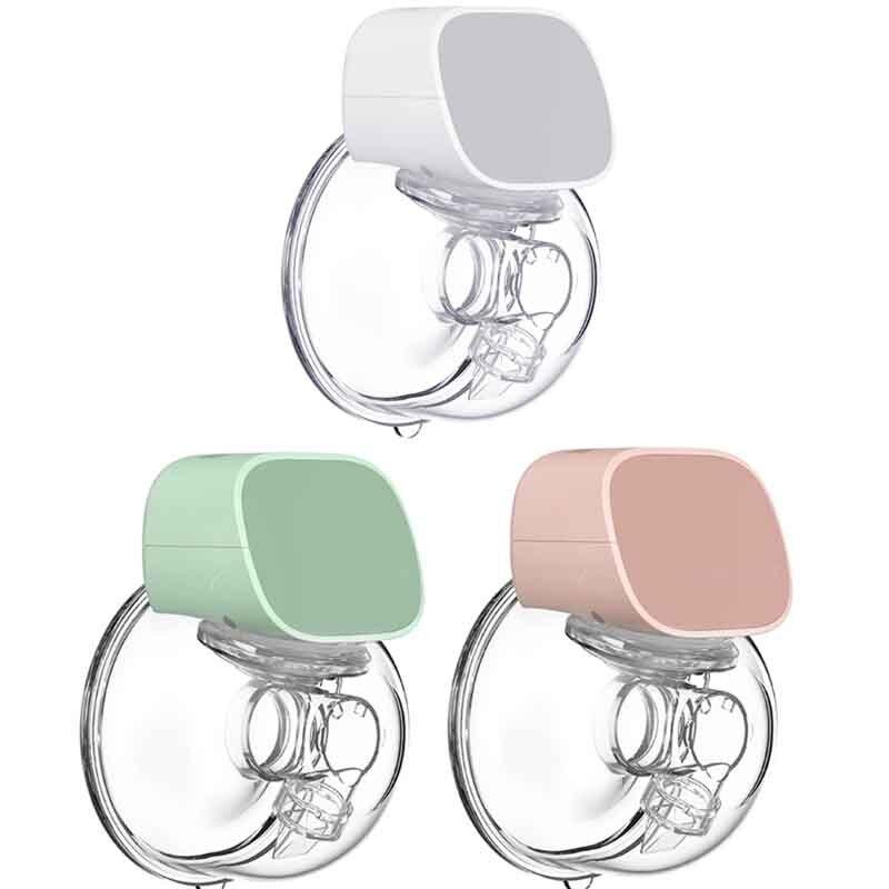 Tire-lait électrique, rechargeable par USB, mains libres, silencieux, automatique, lait maternel pour bébé