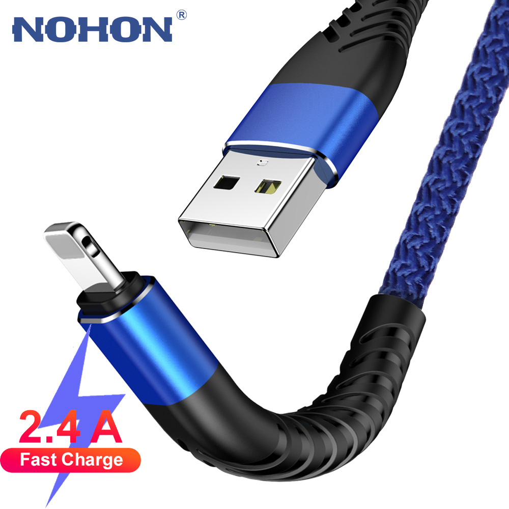 1M 2M 3M USB Data Charger Cable For Apple IPhone 7 8 Plus 10 11 Pro X XS Max Cord 5 6 S 5S 6S Fast Charge Origin Long Phone Wire