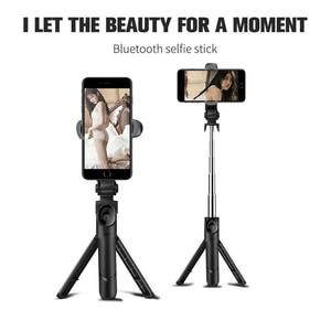 Image 4 - Besegad Opvouwbaar Bluetooth Handheld Selfie Statief Telefoon Standhouder Uitschuifbare Voor Android Ios Smartphone Statief