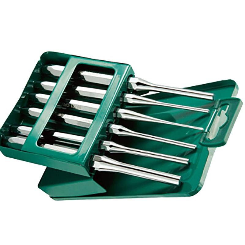 Sata 09162 6 PCs Set штифтовых mites Set percussion flat chisel hand tool For car repair for barb set 6пр 09162