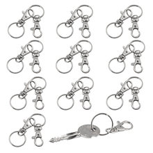 20 small removable screw caps for key rings - carabiner chain cosmetics & jewelery