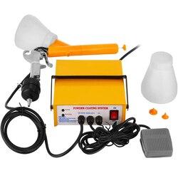 VEVOR, sistema de recubrimiento en polvo electrostático, PISTOLA DE PULVERIZACIÓN eléctrica PC03-5 3,3 W, pintor, pistola de recubrimiento en polvo 5cfm, herramientas de pintura amarilla