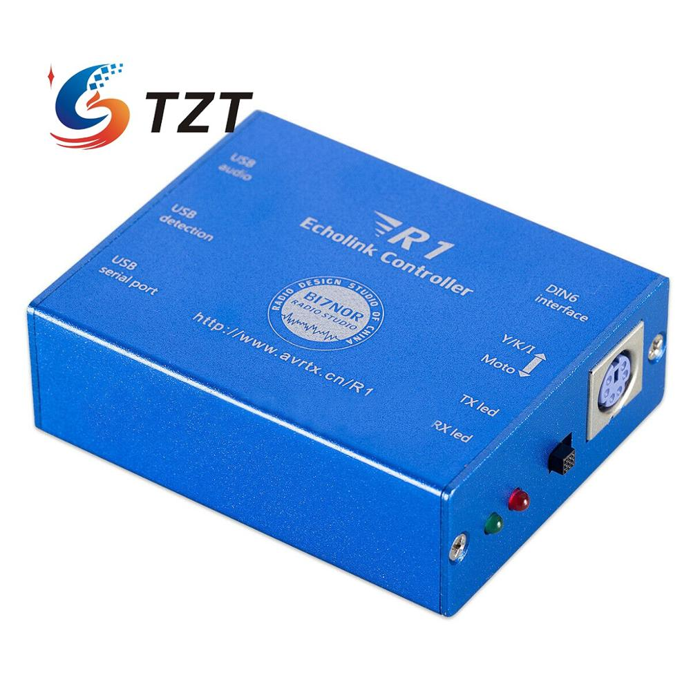TZT Controller For For Echolink & Zello YY Voice Interface Board Controller Radio-Network USB Sound Card Version