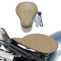 Retro Motorcycle Synthetic Leather Solo Seat Pad Saddle Solo Seat for Harley Sportster Chopper Bobber Custom Softail XL 883 1200