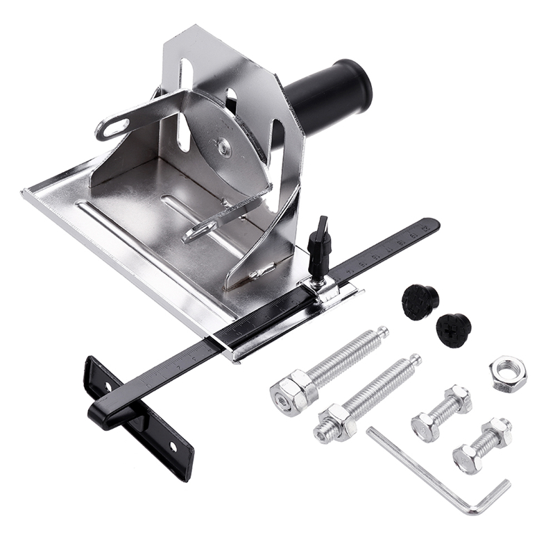 Adjustable Multifunction Angle Grinder Stand Angle Cutting Bracket With Adjustable Base Plate Cover Grinder Bracket New Arrived
