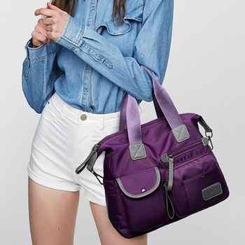 Multiuse Women Waterproof Handbag Nylon Tote Travel Messenger Crossbody Bags For Women Bolsa Feminina Top-Handle Shoulder Bag - DISCOUNT ITEM  36% OFF All Category