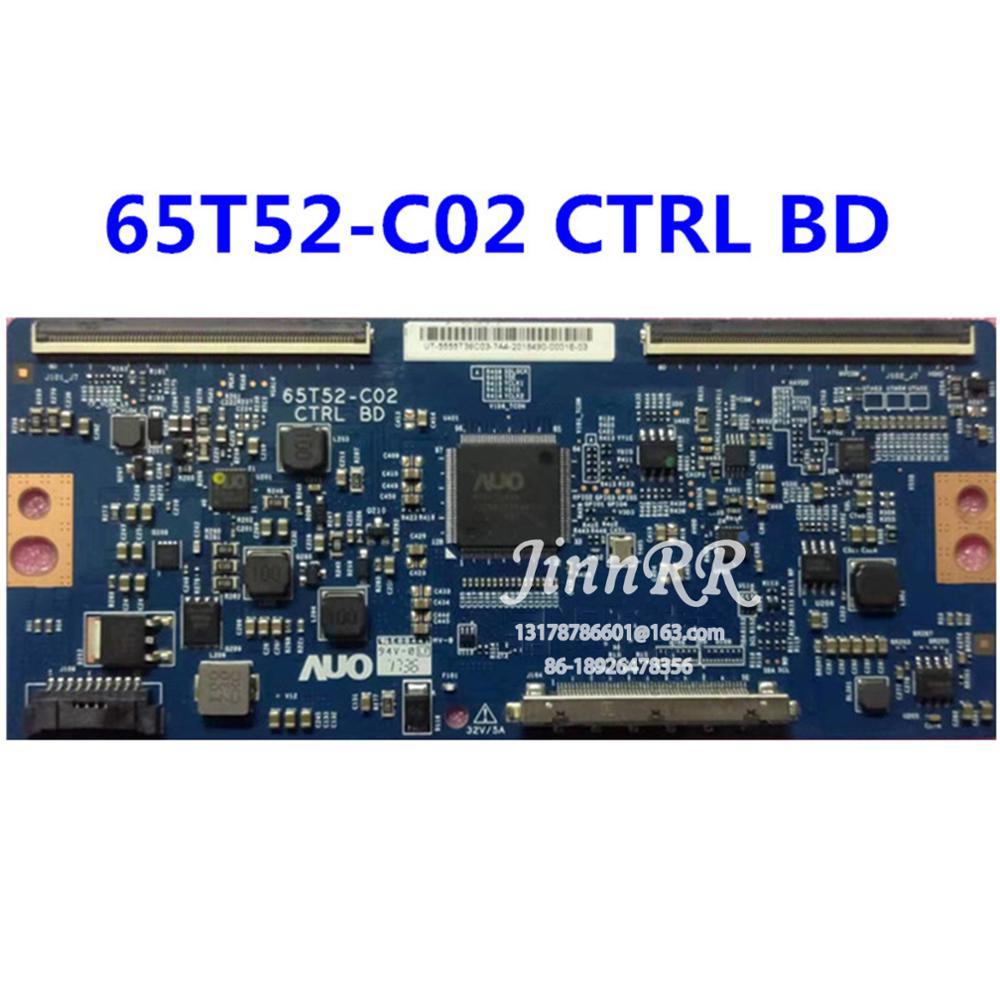 65T52-C02 CTRL BD оригинальный плата логики для AU 55 дюймов Плата логики строгий тест гарантия качества 65T52-C02 CTRL BD
