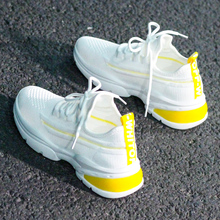 New Spring Female Shoes Women Sneakers Casual Shoes Breathable 2020 Tenis Feminino Air Mesh Ladies Shoes Woman Basket Femme fashion women sneakers casual shoes female mesh summer shoes breathable trainers ladies basket femme tenis feminino