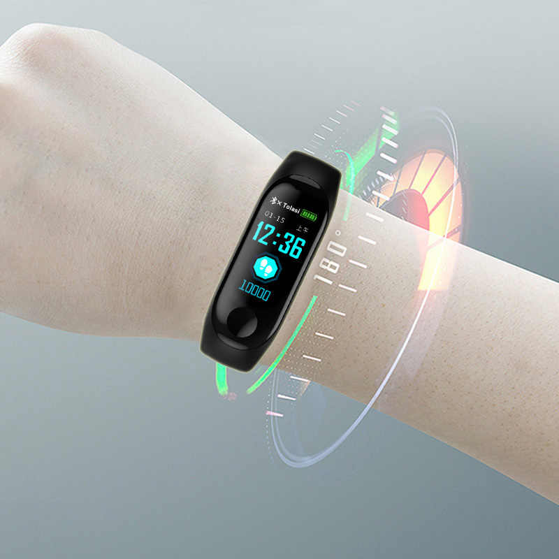 Spor bilezik akıllı kadın saatler dijital elektronik 2019 bayanlar kol saati kadınlar için saat kadın kol saati Hodinky Reloges