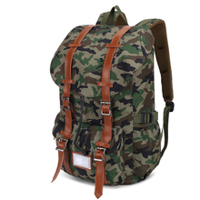 Laptop Multifunctional Cycling Large Capacity Drawstring Hiking Oxford Cloth Buckle Backpack Camping Travel Multi Pocket Zipper