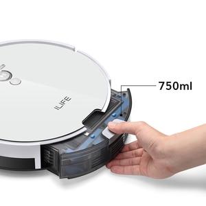 Image 2 - Ilife V8s/V8 Plus Robot Stofzuiger Nat Mop Navigatie Gepland Cleaning Grote Vuilnisbak Water Tank Schema Desinfectie