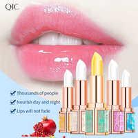 QIC Starry Sky-Bálsamo de labios con sabor a fruta, nutritivo pintalabios transparente, resistente al agua, maquillaje humectante cosméticos para labios, bálsamo brillante