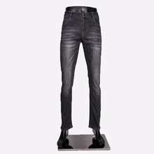 2019 New Jeans Men Business Jean High Quality Straight Leg Male Casual Pants Plus Size Cotton Biker Denim Trousers