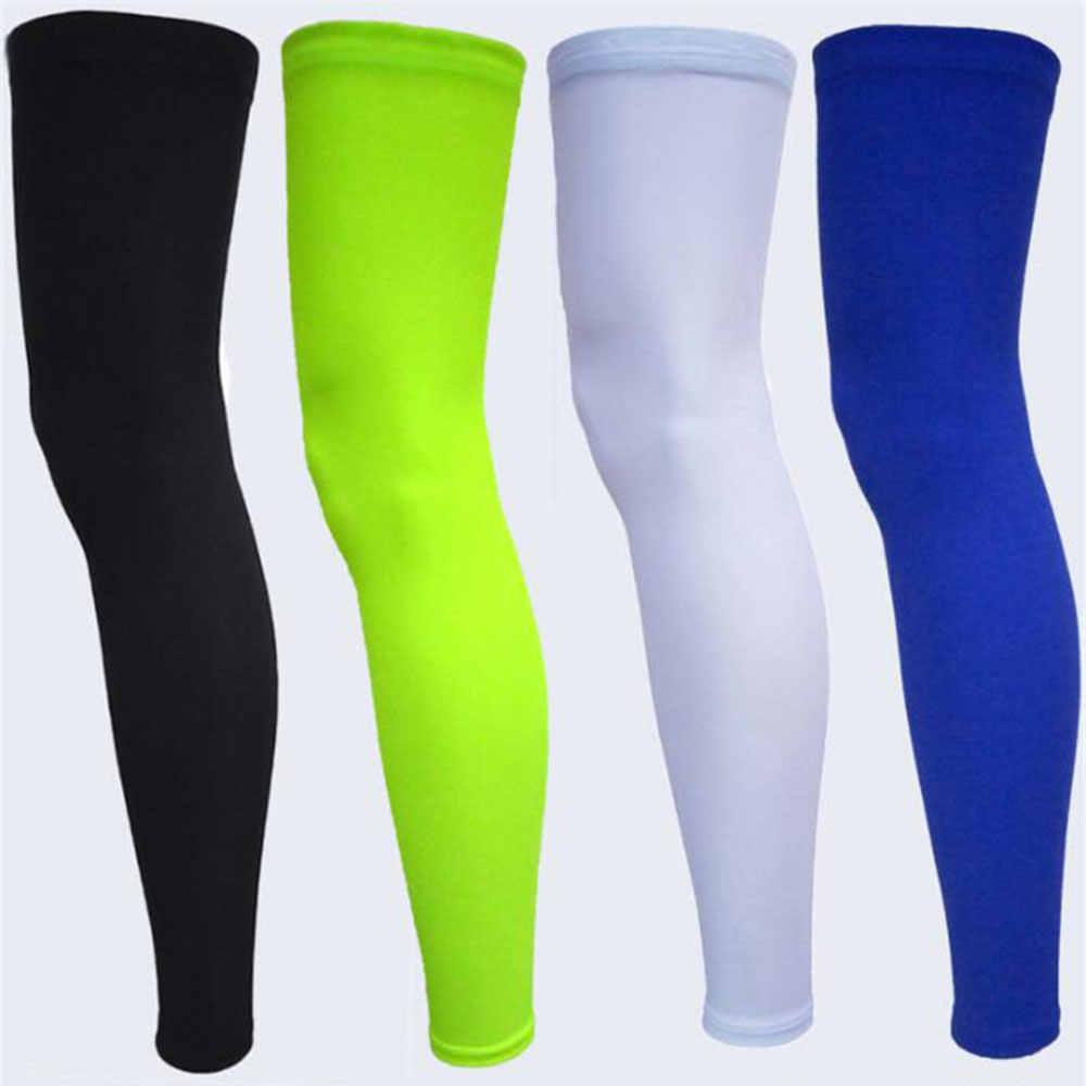 Erkekler Kadınlar Sıkıştırma Bisiklet Bacak isıtıcıları Spor Güvenliği Çalışan Legging Basketbol Futbol Bacak Isıtıcıları Tayt Spor Çorap