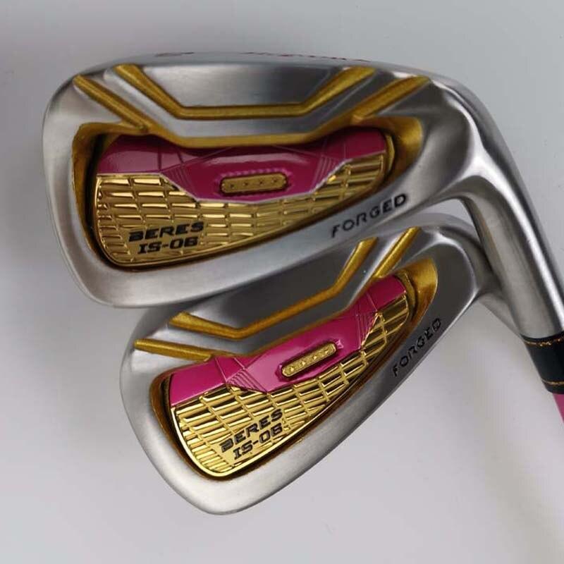Clubs de Golf S-06 Golf fer forgé R Sraphite 5-11/a/s fers de Golf arbre avec couvre-tête femmes livraison gratuite livraison gratuite