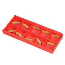 10pcs/box MGMN200-G 2mm Width Carbide Inserts for MGEHR/MGIVR Lathe Grooving Cut-Off Tool