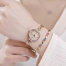 Dress Watches JW Clock Quartz Crystal Ladies'fashion Mujer Reloj Casual Women's Luxury