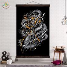 Плакаты и принты настенная живопись на холсте декоративная Настенная