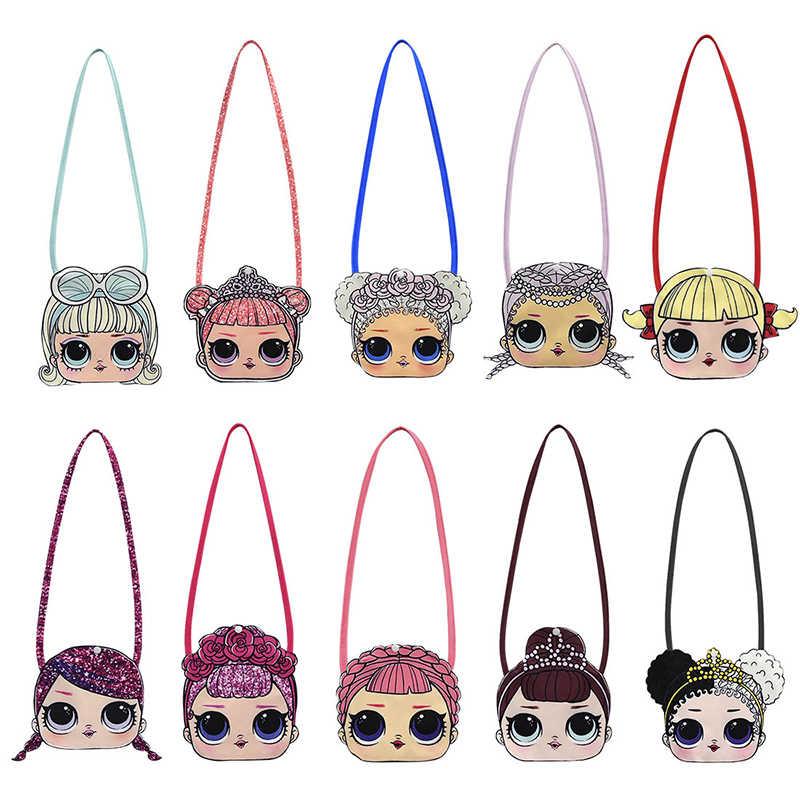 Новый рюкзак на плечо LOL Surprise Dolls для девочек с милым аниме принтом героев мультфильмов, модная маленькая сумка, подарки, 2019