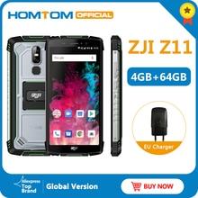 """הגלובלי גרסה HOMTOM מכירה Z11 אנדרואיד 8.1 נייד טלפון IP68 5.99 """"MTK6750T 10000mAh גדול סוללה 4GB RAM 64GB ROM Smartphone"""