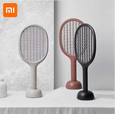 Xiaomi Mijia Electric Raket Nyamuk Solove P1 Usb Isi Ulang Nyamuk Pembunuh Handheld Terbang Pembunuh Pemukul Taman Rumah Produk