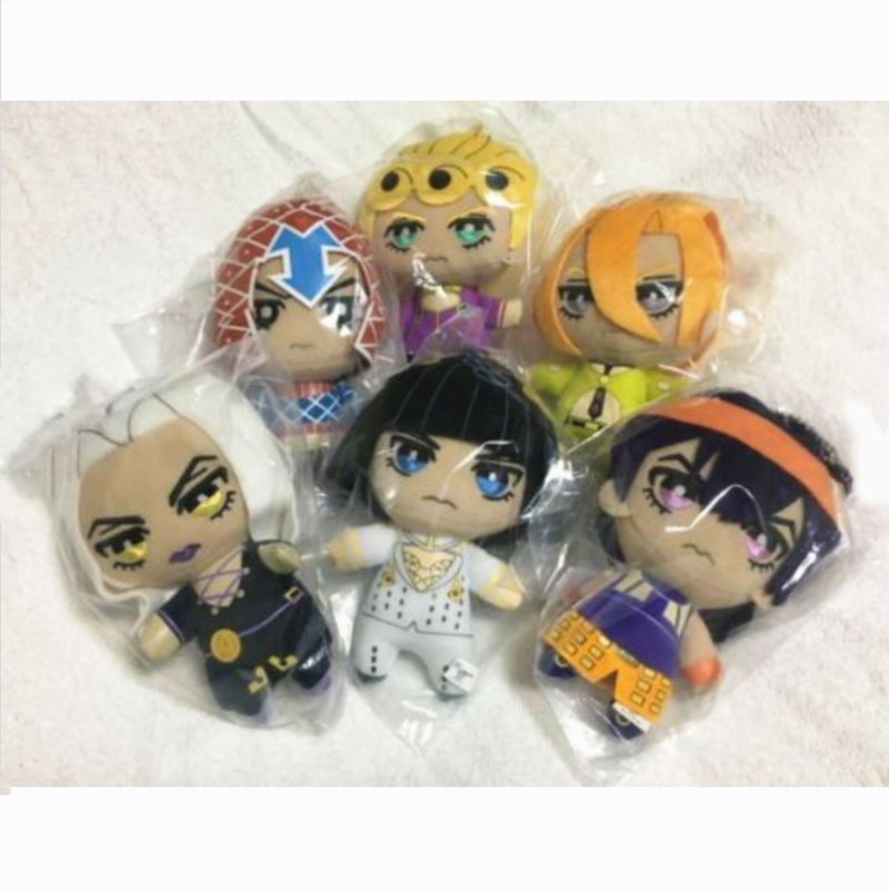 Jojo/'s Bizarre Adventure Golden Wind Vol.4 Plush Dolls Tomonui All 3pcs Set