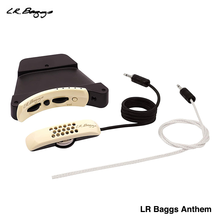 LR Baggs Anthem Acoustic Guitar Pickup Guitar Preamp System Soundhole Microphone Undersaddle With Trumic Element Pickup