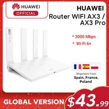 Versão global huawei roteador ax3 wi-fi 6 plus 2.4ghz & 5ghz duplo núcleo 3000mbps sem fio wi-fi roteador ax3