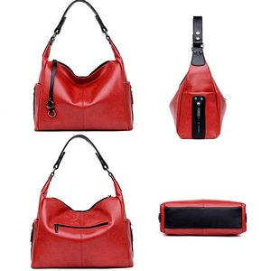 Image 4 - Gradosoo Fashion Zipper Chain Designer Tote Bag Luxury Handbags Women Large Capacity Shoulder Crossbody Bags For Women LBF430