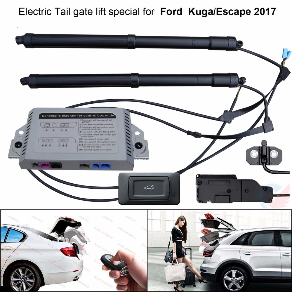 Car Electric Tail Gate Lift Special For Ford Kuga Escape 2017 Easily For You To Control Trunk With Latch