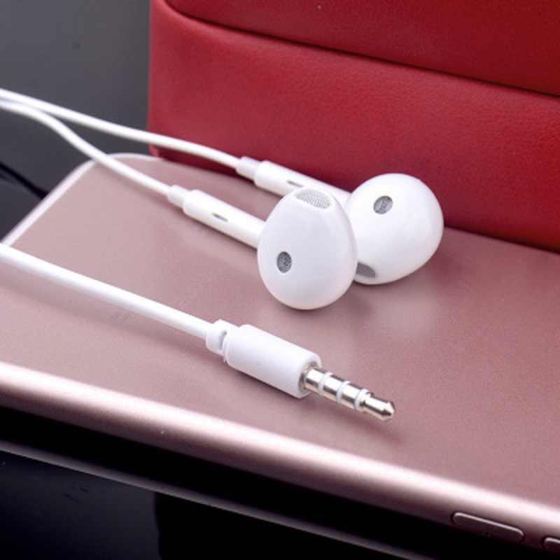 Умные проводные наушники 3,5 мм, музыкальные наушники, стерео игровые наушники с микрофоном для iPhone, Xiaomi, huawei, ps4, спортивные наушники белого цвета