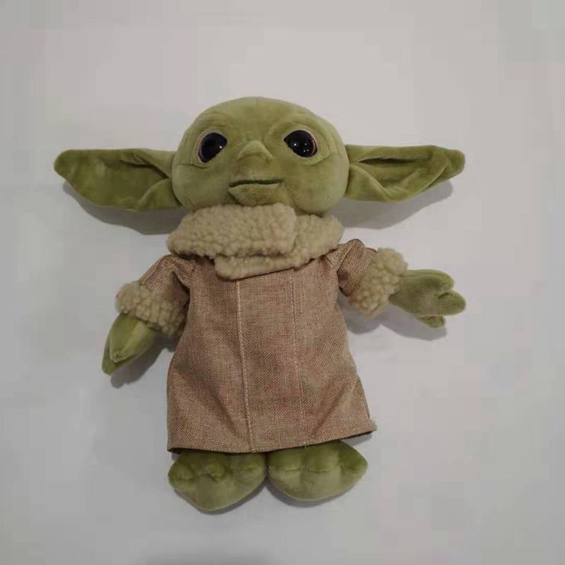 30cm Baby Yoda Plush Toy Soft Animals Stuffed Doll Kids Gift In Stock