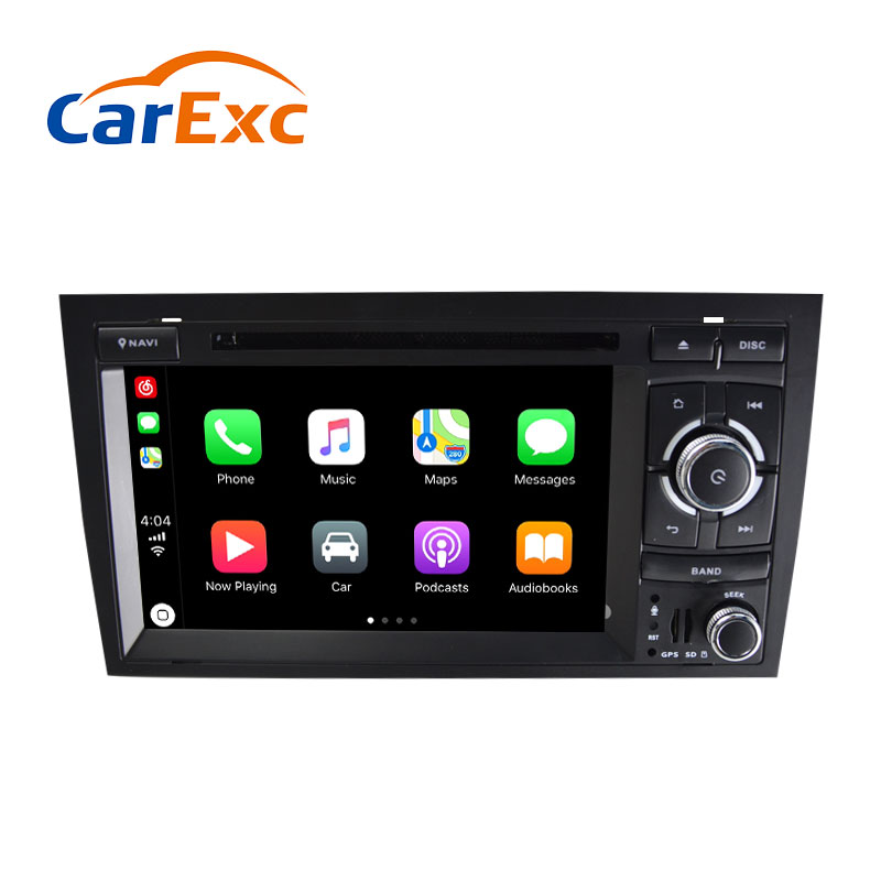Android 9.0 Autoradio Built in CarPlay GPS Navigation Compatible With For Audi A4 S4 RS4 Radio Stereo Head Unit Vehicle GPS     - title=
