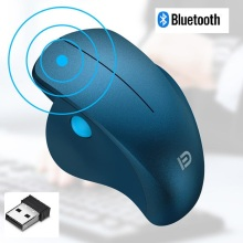 Wireless Bluetooth Mouse 2.4GHz  Optical Gaming Mice with USB Receiver for PC Laptops Computer Gamer
