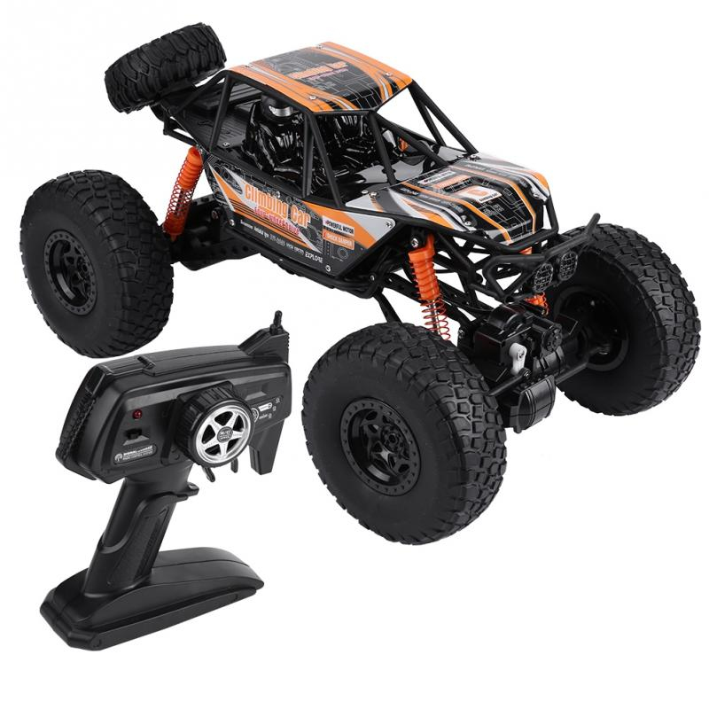 48cm Super Large Rc Car 1:10 4WD High Speed Buggy Climbing Car Drift Racing Three Motor With light 2.4G Remote Control Car toys