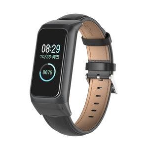 Image 3 - Milanese Strap for Amazfit Cor 2 pulseira Smart Band Leather Wrist Strap Bracelet for Xiaomi Huami Amazfit Cor 2 Wriststrap