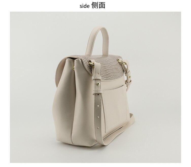 grande estilo francês sacos de couro fim de semana bolsa tote 2020