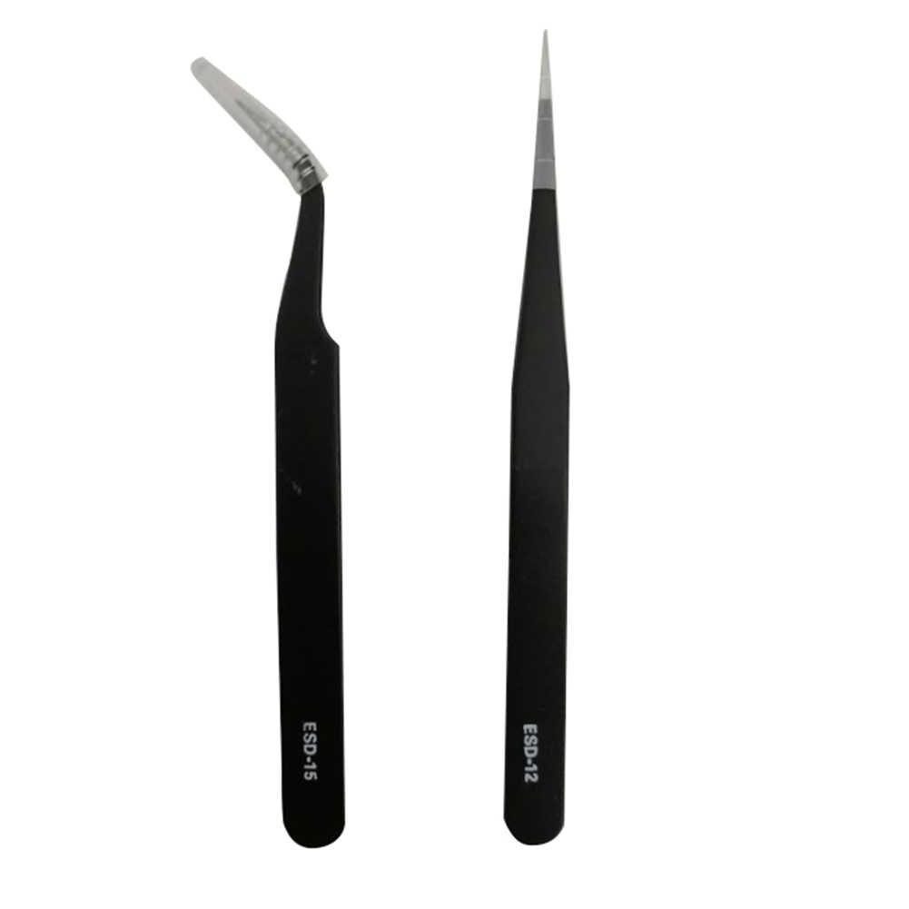 Hot Pro Valse Wimper Extension Tweezer Nail Art Rhinestone Nipper Clip Make-Up Tool