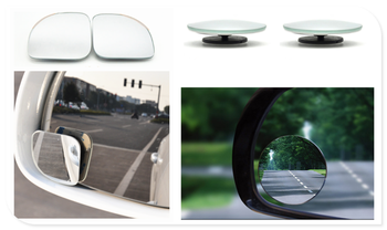 Auto parts small round mirror car rearview mirror blind spot wide-angle lens for BMW i8 Z4 X5 X4 X2 X3 M5 M2 X6 M6 640i 640d image